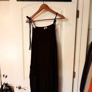 Asos Black Knit Jumpsuit